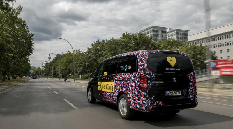 Dal 2025 solo veicoli elettrici nella flotta del servizio metropolitano di ride sharing ViaVan