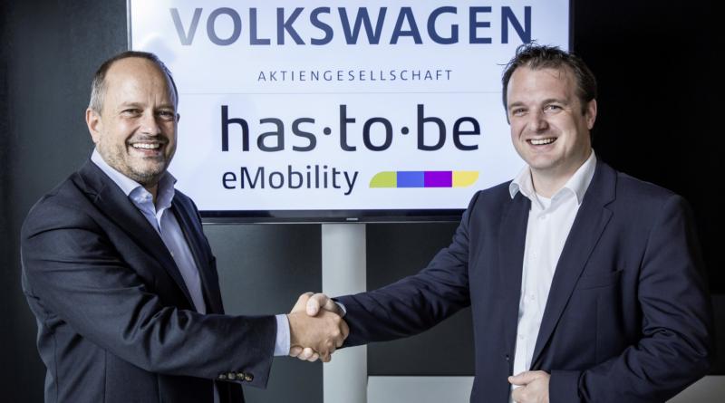 Il gruppo Volkswagen diventa il principale investitore nella società del software per colonnine has·to·be