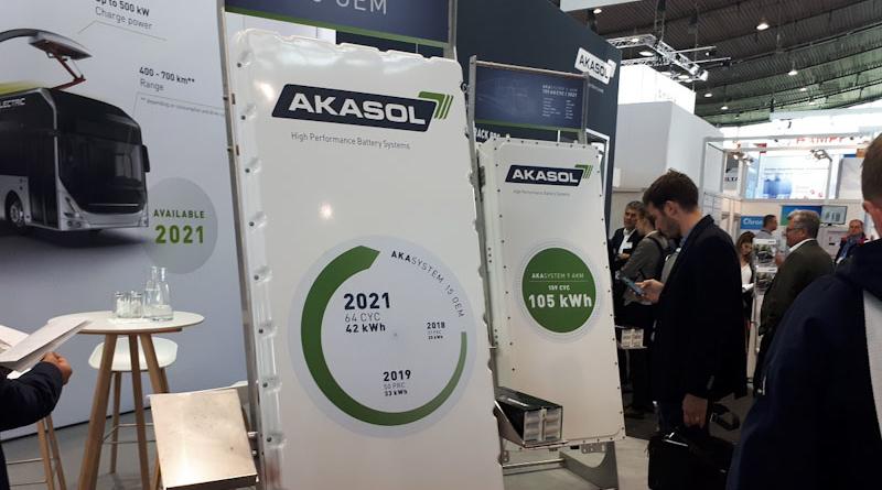 Grazie alle batterie per i veicoli commerciali Akasol aumenta i ricavi del primo semestre