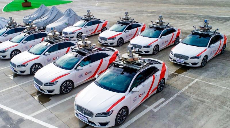 Pronti a mettere in moto a Shanghai taxi a guida autonoma della flotta di DiDi Chuxing