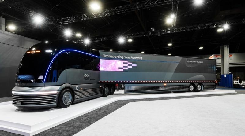 Hyundai concept camion fuel cell