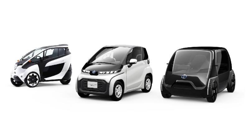 Molto ricca la gamma con cui Toyota guarda alle varie forme di mobilità metropolitana