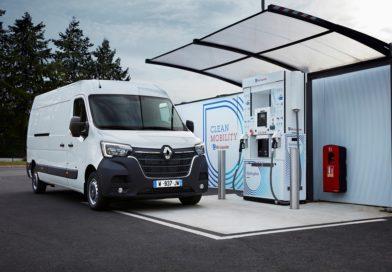 Renault completa l'offerta a zero emissioni locali dei furgoni con Kangoo ZE Hydrogen ee Master ZE Hydrogen 1