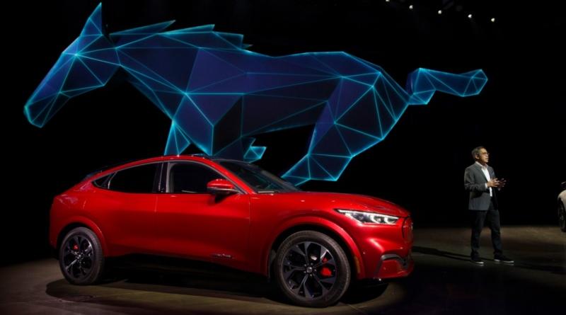 A Los Angeles il lancio della Mustang Mach-E, il primo SUV elettrico Ford