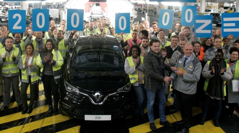 Dal 2012 a ieri prodotte le prime... 200.000 Zoe elettriche nella fabbrica Renault di Flins