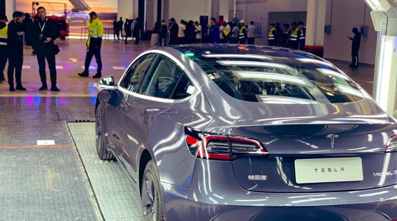 In meno di un anno consegnate le prime Model 3 della Gigafactory di Shanghai