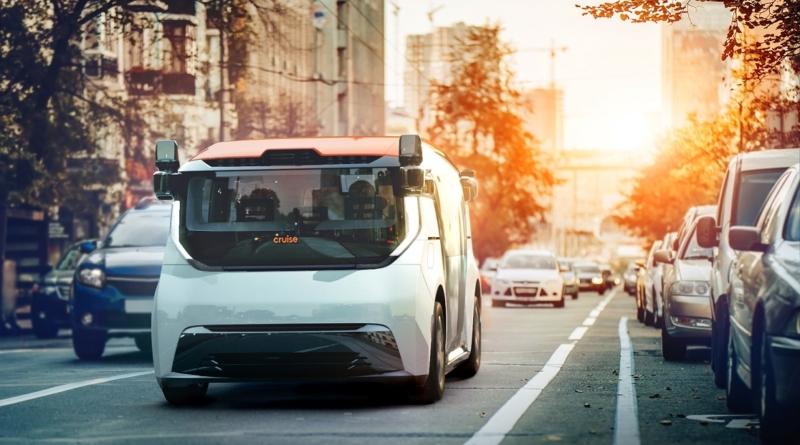 Le Chevy Bolt sperimentali a guida autonoma hanno un erede: lo shuttle Cruise Origin