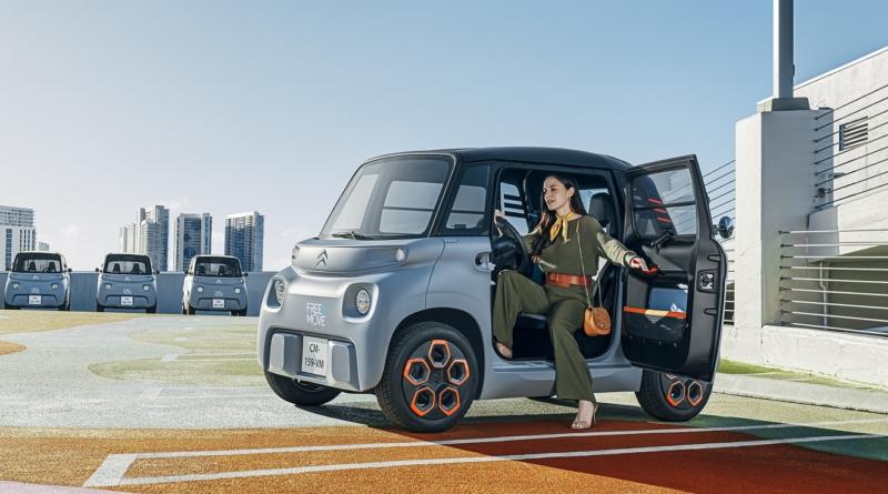 Citroën eleva la mobilità al quadrato, anzi al cubo