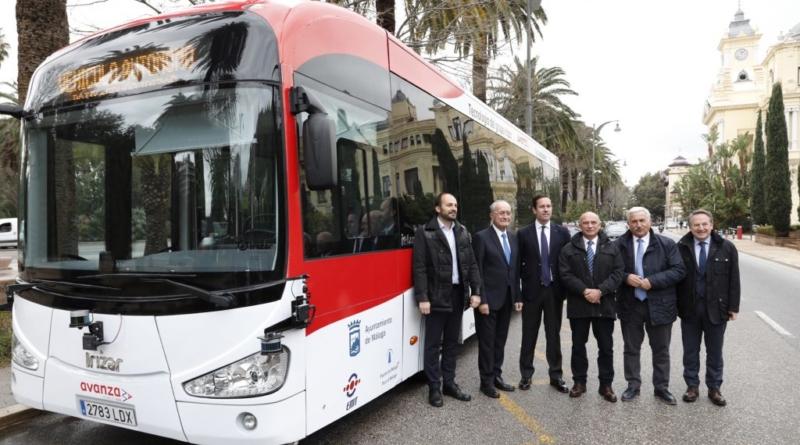 Debutterà presto a Malaga il primo autobus autonomo Irizar
