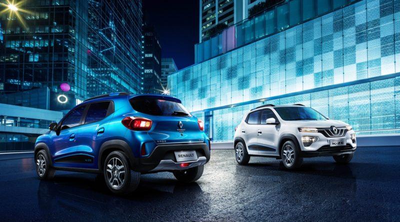 Nel giorno del rosso-Renault, Dacia Urban City Car è uno sprazzo azzurro