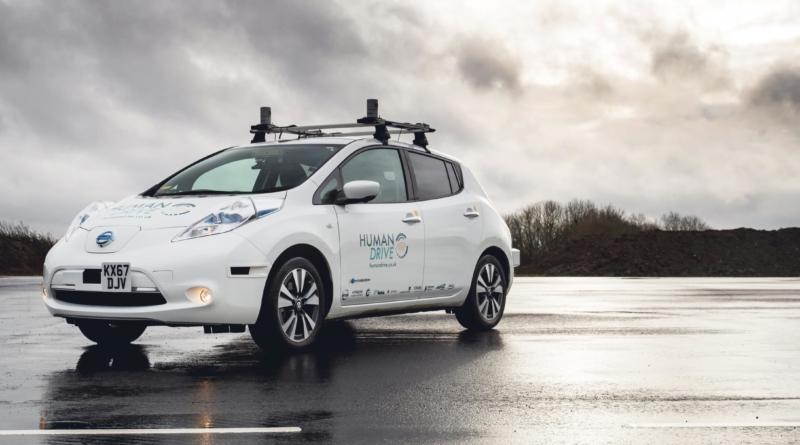 Una Leaf ha completato il più lungo e complesso viaggio a guida autonoma mai tentato in Inghilterra