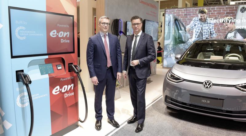 Via al piano per sviluppare e produrre unità mobili di ricarica E.On e Volkswagen