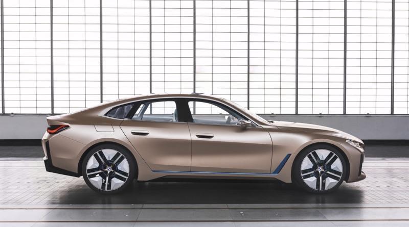 Concept i4: la ricetta per autonomia e potenza in salsa BMW 1