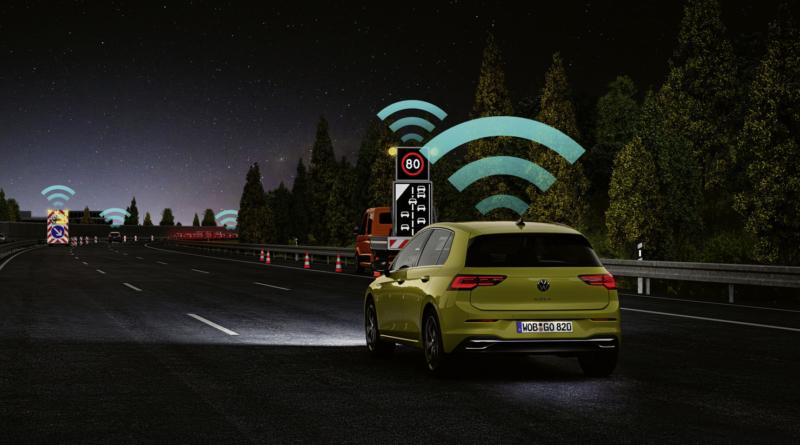 Da Euro NCAP un premio alla tecnologia Car2X Volkswagen