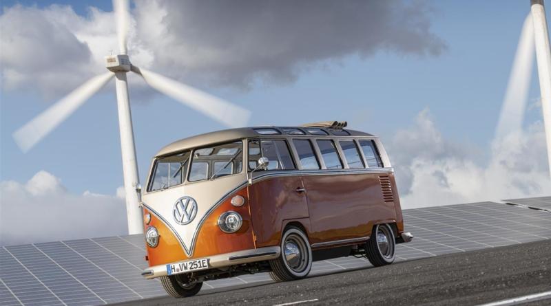 Il retrofit elettrico alla prova del Microbus Volkswagen 1