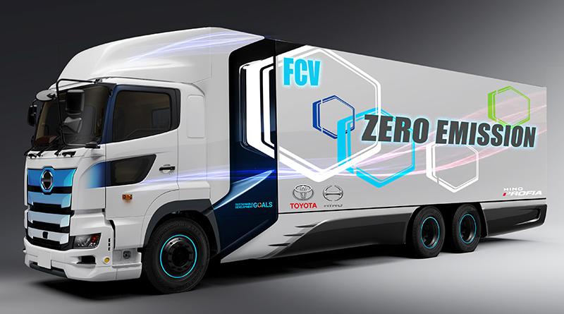 Toyota svilupperà un veicolo commerciale pesante a idrogeno insieme ad Hino