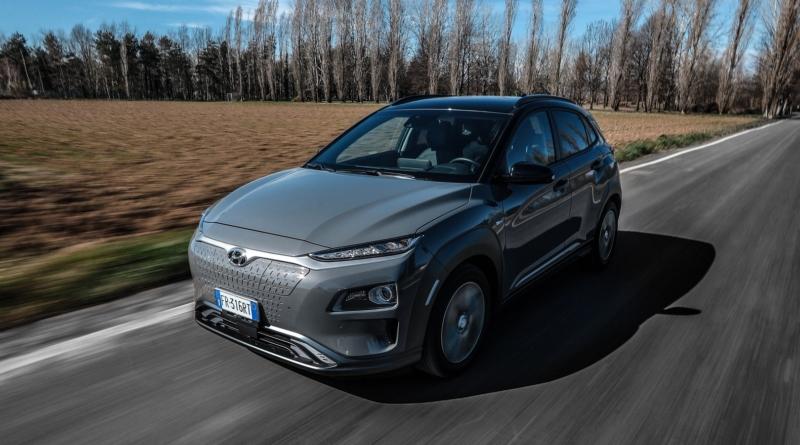Cresce l'autonomia massima delle Hyundai Kona elettriche