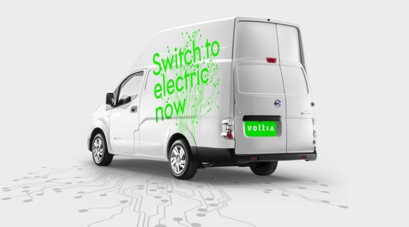 Nissan aggiunge il Voltia alla gamma di furgoni elettrici per consegne urbane