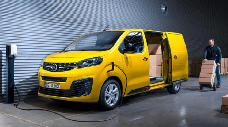 Vivaro-e è il primo veicolo commerciale «full electric» Opel