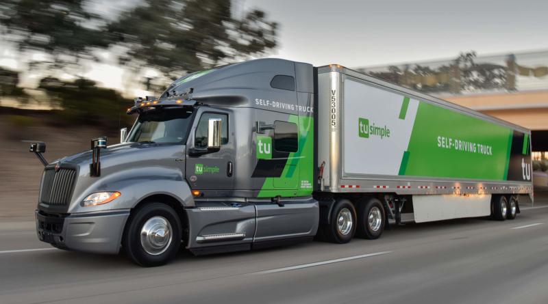 Accordo perfezionato tra Navistar e TuSimple sui camion senza autista