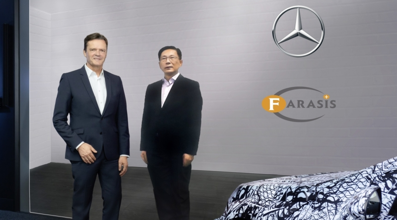 Daimler compra quota del produttore di batterie Farasis Energy