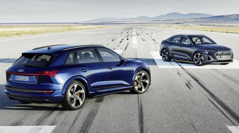 Disponibili in Italia nel terzo trimestre 2020 le versioni S del SUV elettrico Audi