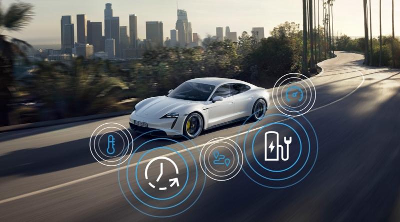 Novità via etere e via colonnine per la Porsche Taycan Model Year 2021