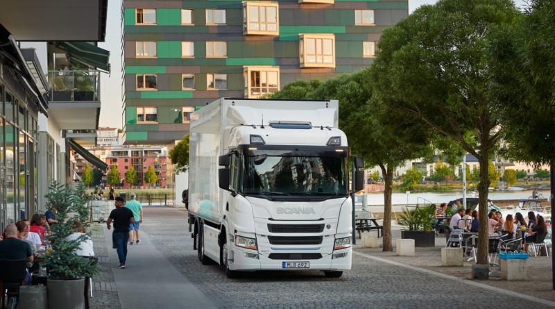 Scania BEV, primo camion al 100% elettrico della casa svedese