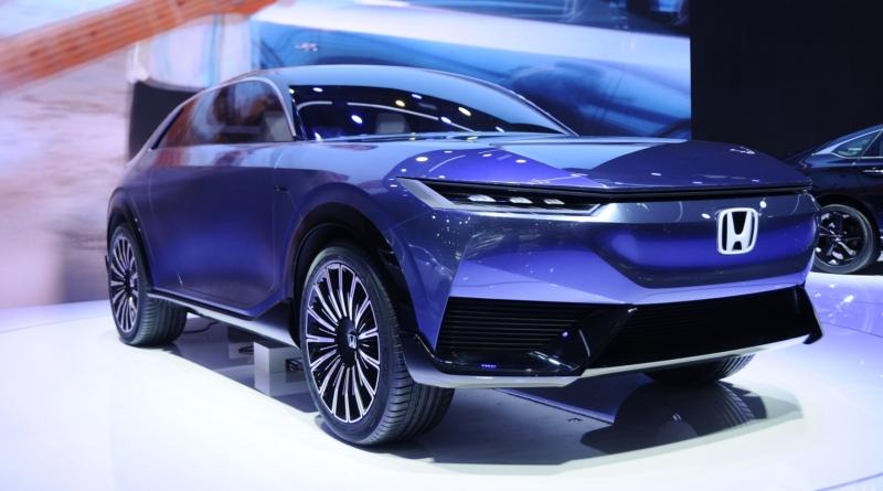 La prima immagine del SUV elettrico Honda e:concept