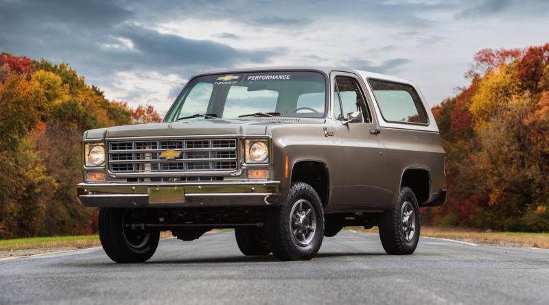 Il Chevrolet Blazer con dentro una Bolt