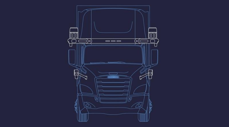 Il Waymo Driver a bordo dei Freightliner Cascadia