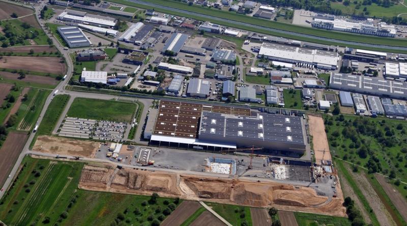 Sito Mercedes dedicato all'economia circolare a Kuppenheim