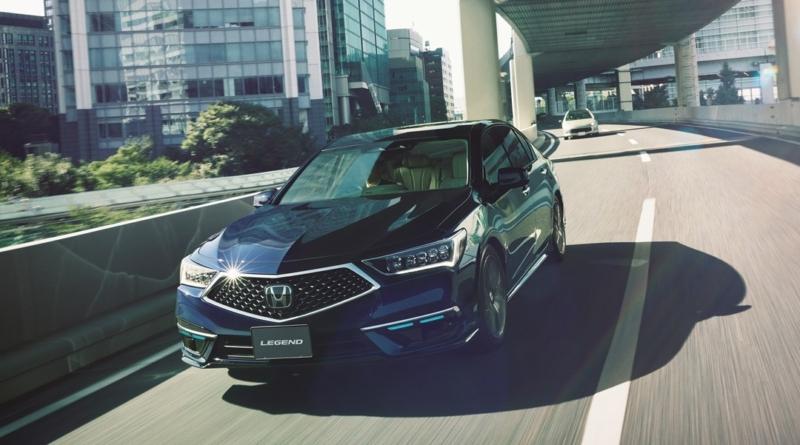 Honda venderà 100 Legend con sistemi autonomi di Livello 3 SAE