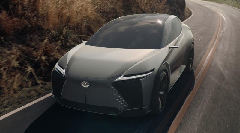 La familiarità elettrica del concept LF-Z