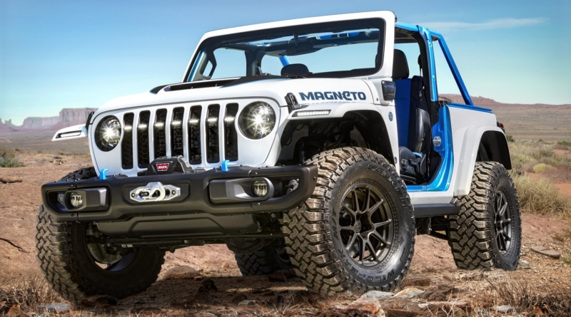 La prima Jeep al 100% elettrica attrae come un Magneto