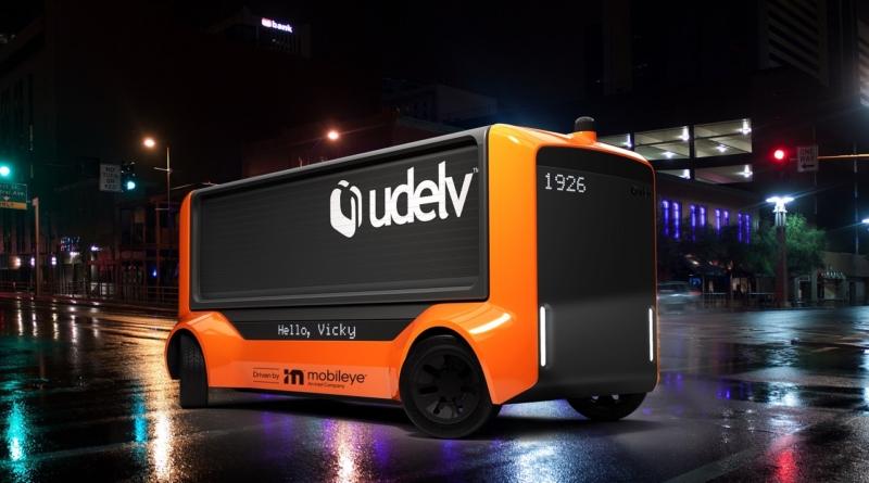 Accordo tra Mobileye e Udelv: arriva il Transporter