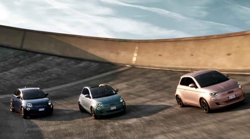 Fiat 500 elettrica: dal primato al poker
