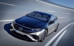 La nuova Mercedes EQS promossa dal P3 Charging Index