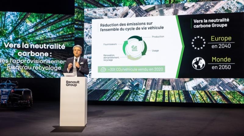 La ragion d'essere Renault accumula più energia
