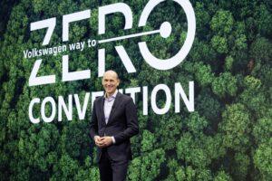 Tutto il verde della Way to Zero Convention Volkswagen