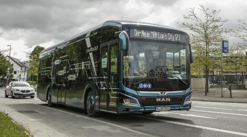 La 24 Ore di Monaco del bus elettrico MAN