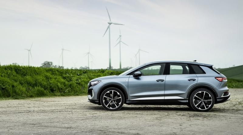 Due novità nella gamma del SUV elettrico Audi Q4