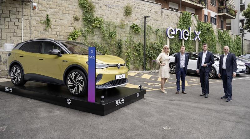 "Insieme Volkswagen ed Enel X vogliono ""Electrify Italy"""