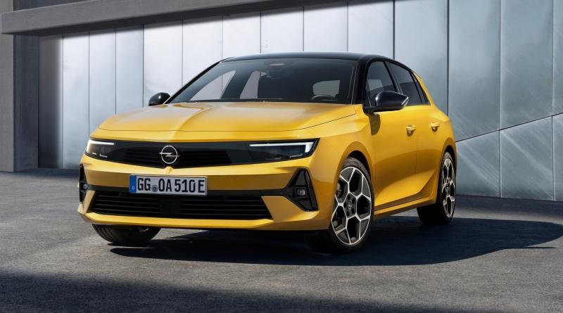 La nuova Opel Astra: la compatta sarà anche ibrida plug-in