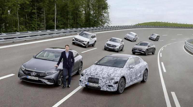 Mercedes punta €40 miliardi su piattaforme elettriche e batterie 1