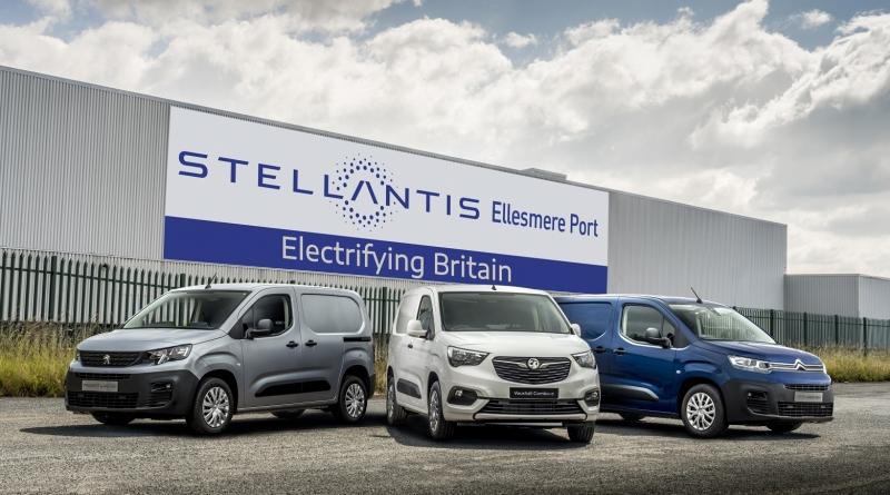 Stellantis affida ad Ellesmere Port furgoni elettrici e minivan