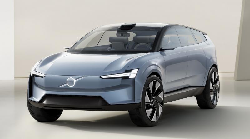 Sul manifesto del futuro Volvo c'è il SUV Concept Recharge