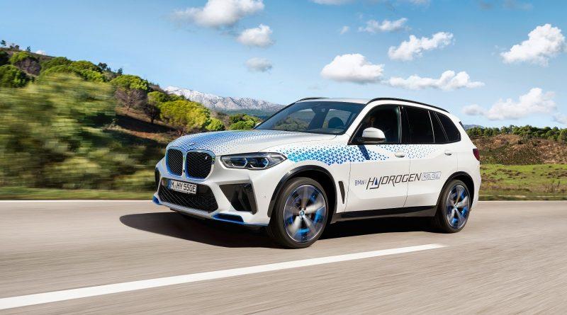 Al Salone Auto di Monaco in prova la IX5 Hydrogen
