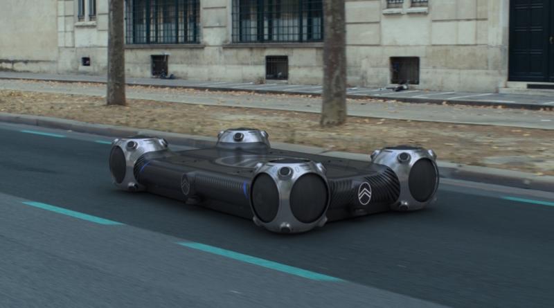 Citroën con lo Skate svela un concept a tempo pieno